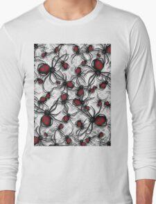 Black Widow Nest Long Sleeve T-Shirt
