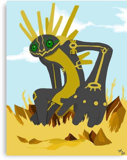 Nazca Tree Earthbound God by alucardsblood