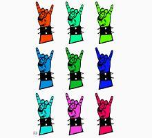 Warhol style metal horns Unisex T-Shirt