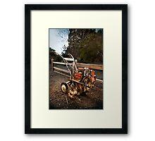 Merry Tiller Framed Print