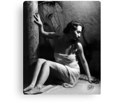 The Struggle Within - Self Portrait Canvas Print