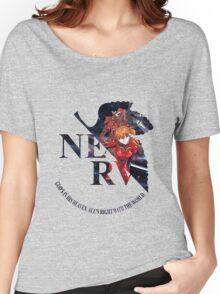 neon genesis evangelion asuka soryu anime manga shirt Women's Relaxed Fit T-Shirt