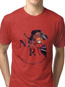 neon genesis evangelion asuka soryu anime manga shirt Tri-blend T-Shirt