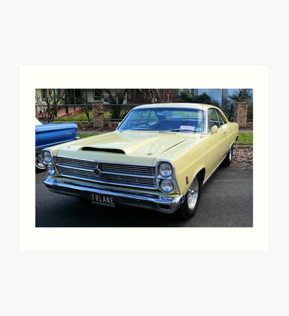 1966 Ford Fairlane GTA Big Block Art Print