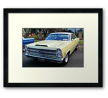 1966 Ford Fairlane GTA Big Block Framed Print