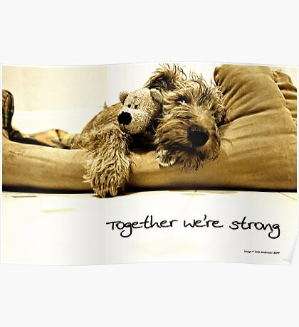 Together we're strong Poster