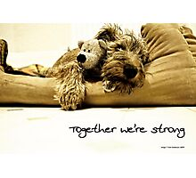 Together we're strong Photographic Print