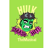 Rick and Morty // Hulk The Musical Photographic Print