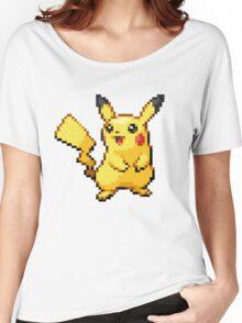 Pixelated Pikachu Women's Relaxed Fit T-Shirt