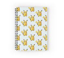 Pixelated Pikachu Spiral Notebook