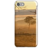 Sunrise The morning after the rolling moisture cloud. Adelaide Hills. iPhone Case/Skin