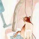 cat loom by noirL
