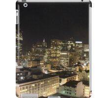 Night time is San Francisco CA iPad Case/Skin