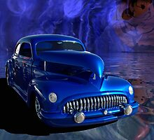 "1941 Chevrolet Custom Coupe.  ""The Hawk"" by TeeMack"