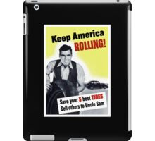 Keep America Rolling -- WWII iPad Case/Skin