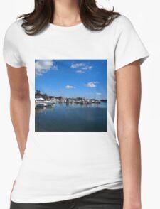 Yamba Marina, Northern NSW, Australia Womens Fitted T-Shirt