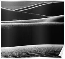 Dunes, Death Valley, California, US Poster