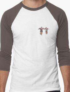 2 little angels to watch over you Men's Baseball ¾ T-Shirt