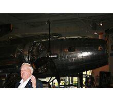 B-17 and WW2 Pilot Photographic Print