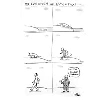 the evolution of evolution Photographic Print