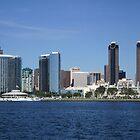 San Diego Panorama by fsmitchellphoto