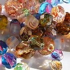 Colorful Glass Beads by Annie Underwood
