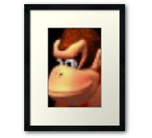 Donkey Kong ;) Framed Print