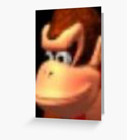 Donkey Kong ;) Greeting Card