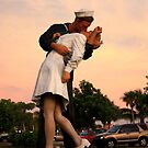 Soldier Kissing a Nurse by Don Rankin