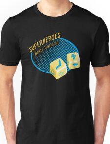 Superheroes name-generator Unisex T-Shirt