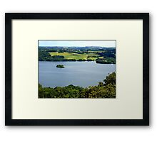 Let me share a happy moment Framed Print