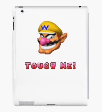 """Touch me"" - WARIO iPad Case/Skin"