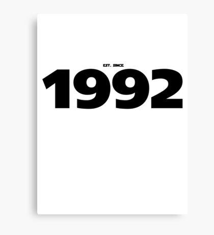 1992 - STARWARS Canvas Print