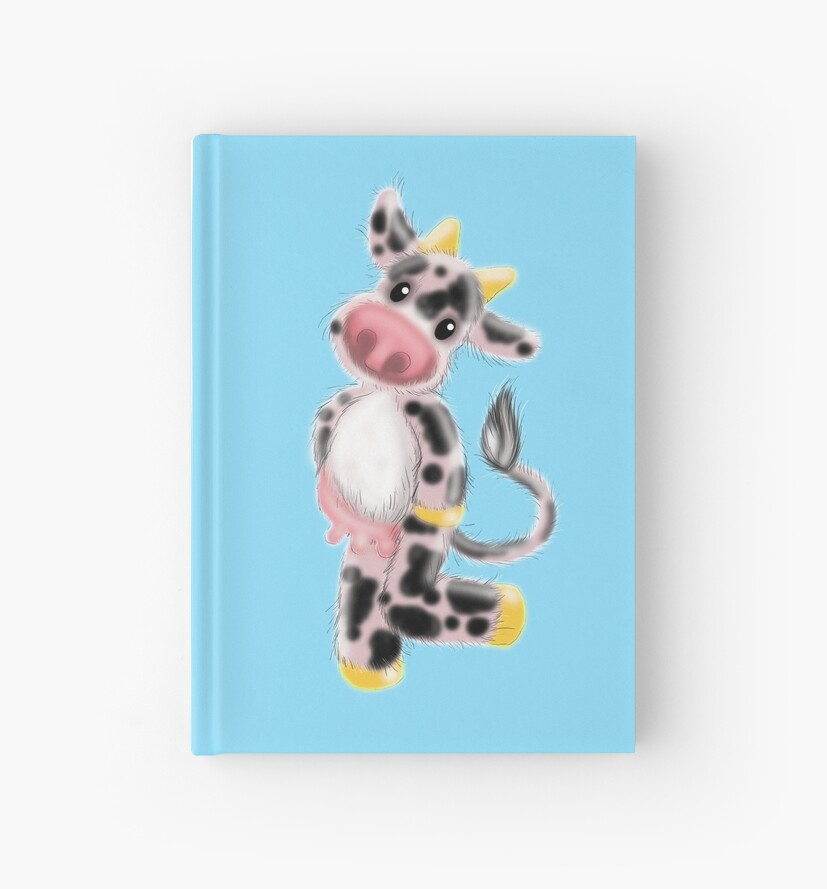 Cutie Hairy Cow with pink udders by jazzydevil