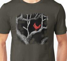 The bandit Cardinal Returns to southern Arizona mesquite tree Unisex T-Shirt