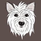 Lucky Dog Tee by AmyBonnici