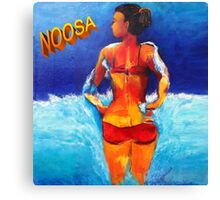 Noosa Beach Belle  Canvas Print