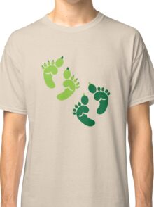 Two pairs twins Ogre feet cute for Halloween! Classic T-Shirt