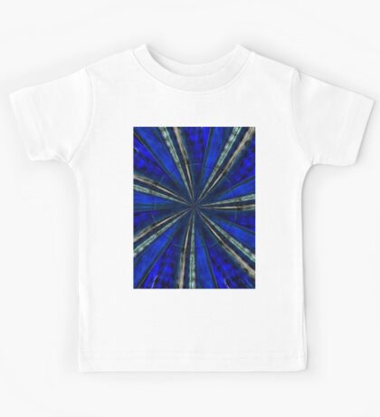 Psychedelic Blue Kids Tee