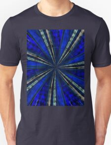 Psychedelic Blue Unisex T-Shirt
