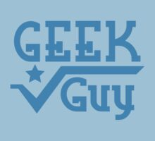 Geek Guy cute nerdy geek design for men One Piece - Short Sleeve