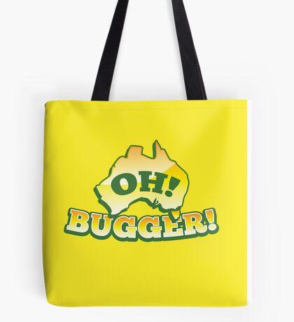 OH! Bugger! Aussie Australian map OZ funny design Tote Bag