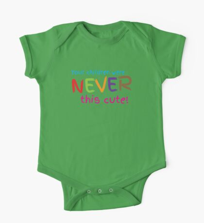 Your Children were never this cute! One Piece - Short Sleeve