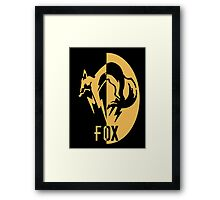 FoxHound logo Framed Print