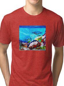 Great Barrier Reef  Tri-blend T-Shirt