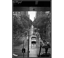 city tram Photographic Print
