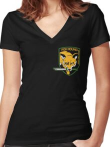 FOXHOUND 2 Women's Fitted V-Neck T-Shirt
