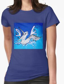 Happy Pelican splashing  T-Shirt