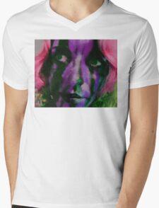 Faces Of Beautiful Horror- Image 3 Mens V-Neck T-Shirt