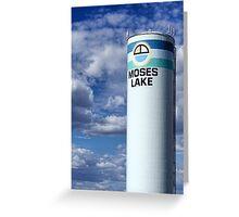 Water Tower (Moses Lake, Washington, USA) Greeting Card